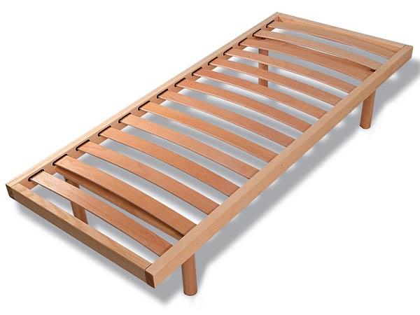Reti a doghe in legno milano realizzate su misura dueffe - Reti letto su misura ...